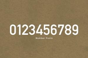 【フリーフォント】プライス表示などに使えそうな英数字フォント