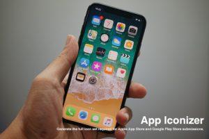 iOS・Androidアイコンを作成できるジェネレーター「App Iconizer」